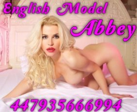 English Model Abbey is a very popular British Escort in Belfast City Centre